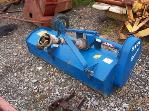 110: NICE FORD 917L 5FT FLAIL MOWER FOR COMPACT TRACTOR