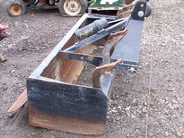 "3: Heavy Duty Woods 72"" Box Blade for Kubota Tractor - 3"
