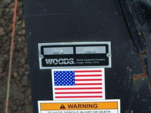 "3: Heavy Duty Woods 72"" Box Blade for Kubota Tractor - 6"