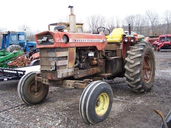 5: Massey Ferguson 1100 Diesel Farm Tractor