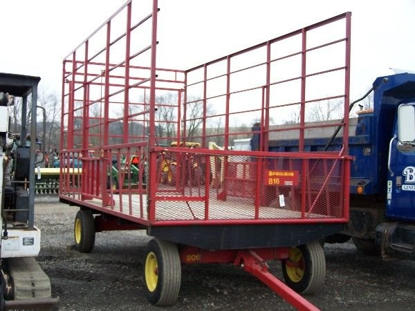 16: Pequea 816 hay wagon for tractor LIKE NEW!!!!!