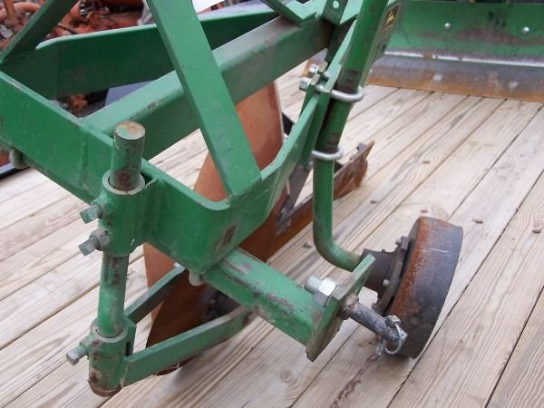 7: Original John Deere 3PT One Bottom Plow for Tractors - 10