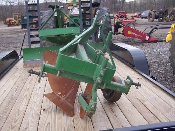 7: Original John Deere 3PT One Bottom Plow for Tractors - 2