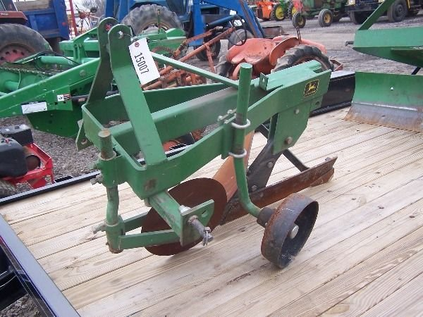 7: Original John Deere 3PT One Bottom Plow for Tractors - 6