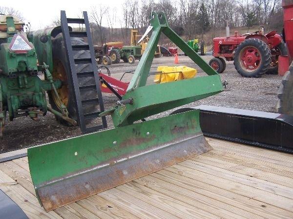 8: Nice Original John Deere 5FT 3PT Blade for Tractors