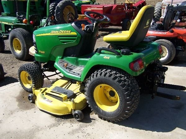 75: John Deere X585 Lawn and Garden Tractor w/ 4x4 Mowe - 2