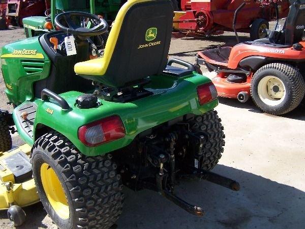 75: John Deere X585 Lawn and Garden Tractor w/ 4x4 Mowe - 3
