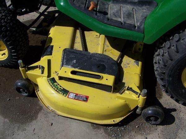 75: John Deere X585 Lawn and Garden Tractor w/ 4x4 Mowe - 5