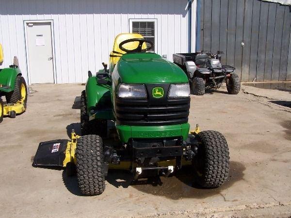 75: John Deere X585 Lawn and Garden Tractor w/ 4x4 Mowe - 7