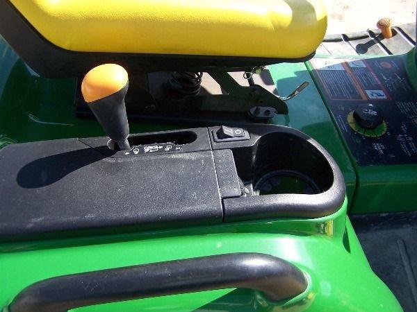 75: John Deere X585 Lawn and Garden Tractor w/ 4x4 Mowe - 9
