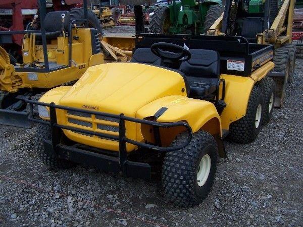 21: Cub Cadet Big Country 6x4 Gator type Utility Vehicl