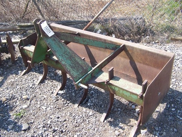 500: JD 5ft Box Blade for tractor