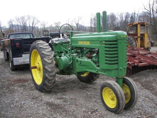 501: John Deere A Farm Tractor, 2 Cyl