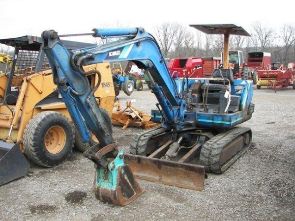511: Kobelco SK027 Excavator!!!