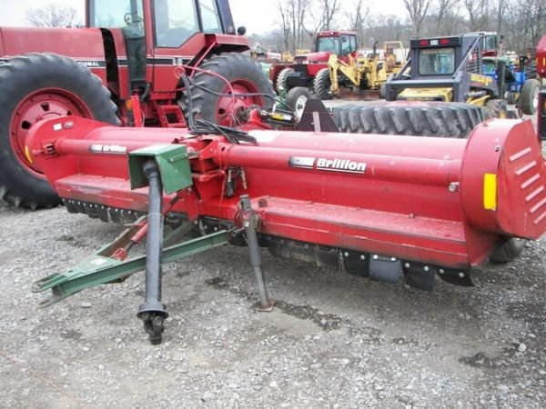 513: Like New Brillion FS 1446 4 Row Stalk Chopper!!!