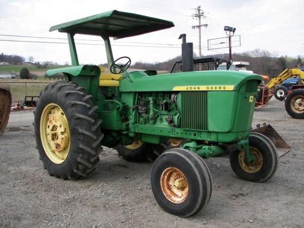 517: Nice 1972 John Deere 4020 Tractor Side Console!! - 3