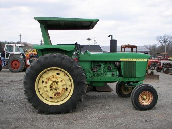 517: Nice 1972 John Deere 4020 Tractor Side Console!! - 9