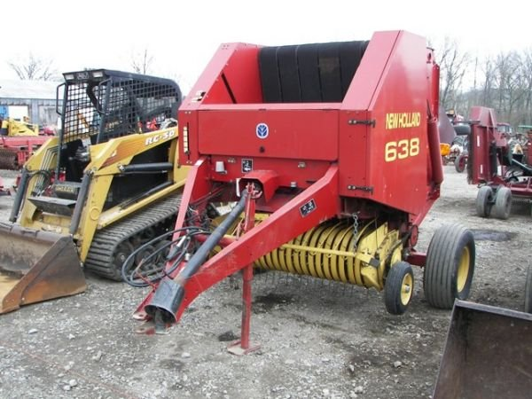 519: Nice New Holland 638 Baler for Tractors!!