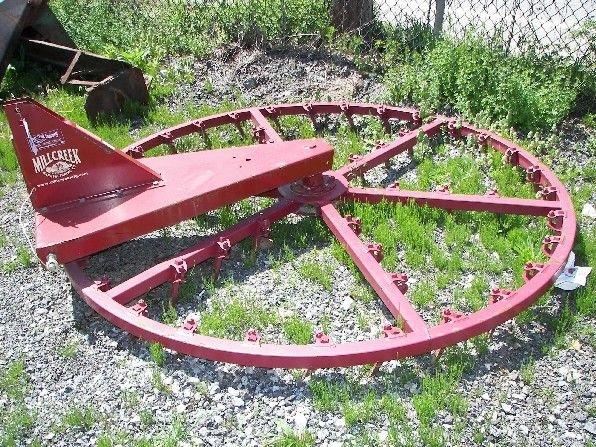 8: New Millcreek 3pt  Arena Harrow for Compact Tractors