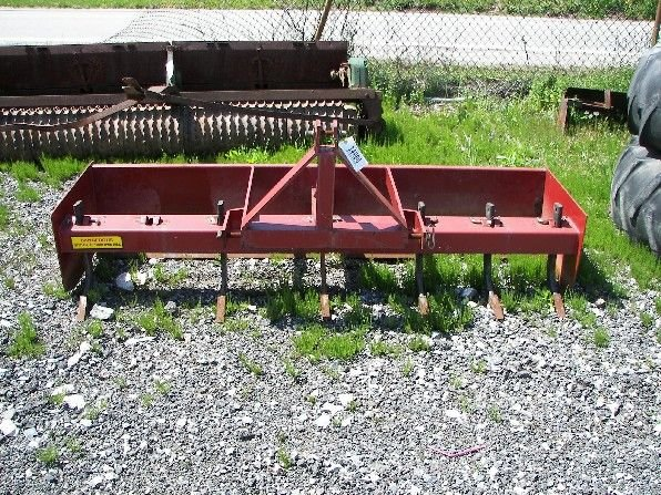 9: Like New 484HD United Box Blade for Compact Tractors