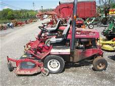 15: Toro Groundsmaster 322D Front Cut Tractor!!