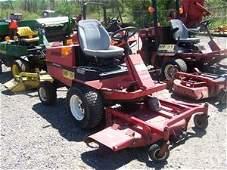 """17: Toro GroundMaster 220D Front Cut Tractor w/ 52"""" De"""