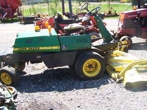 """18: John Deere F935 Front Cut Tractor w/ 72"""" Deck!!! - 8"""