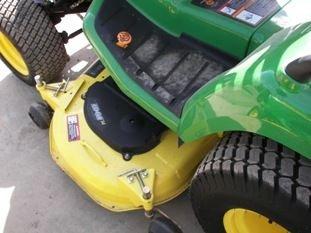 65: Nice John Deere X585 4WD Lawn & Garden Tractor - 10