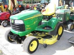 65: Nice John Deere X585 4WD Lawn & Garden Tractor
