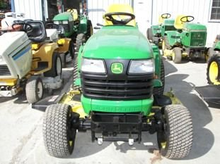 65: Nice John Deere X585 4WD Lawn & Garden Tractor - 2