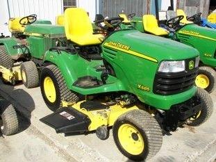65: Nice John Deere X585 4WD Lawn & Garden Tractor - 3