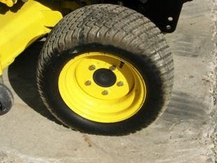 65: Nice John Deere X585 4WD Lawn & Garden Tractor - 4