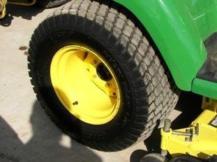 65: Nice John Deere X585 4WD Lawn & Garden Tractor - 5