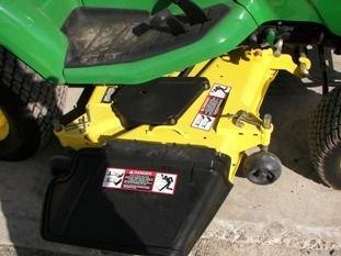 65: Nice John Deere X585 4WD Lawn & Garden Tractor - 6