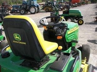 65: Nice John Deere X585 4WD Lawn & Garden Tractor - 7