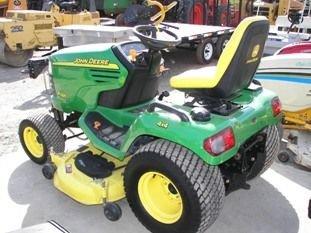65: Nice John Deere X585 4WD Lawn & Garden Tractor - 9