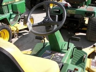 "67: John Deere F725 Front Cut Lawn Mower with 54"" Deck - 10"
