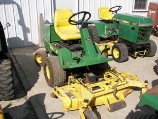 "67: John Deere F725 Front Cut Lawn Mower with 54"" Deck"