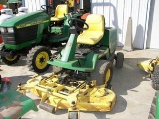 "67: John Deere F725 Front Cut Lawn Mower with 54"" Deck - 2"