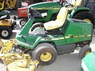 "67: John Deere F725 Front Cut Lawn Mower with 54"" Deck - 3"