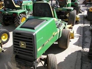 "67: John Deere F725 Front Cut Lawn Mower with 54"" Deck - 5"