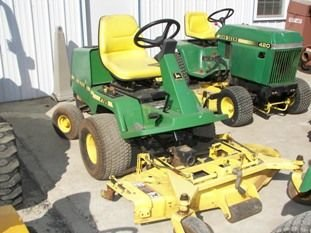 "67: John Deere F725 Front Cut Lawn Mower with 54"" Deck - 8"