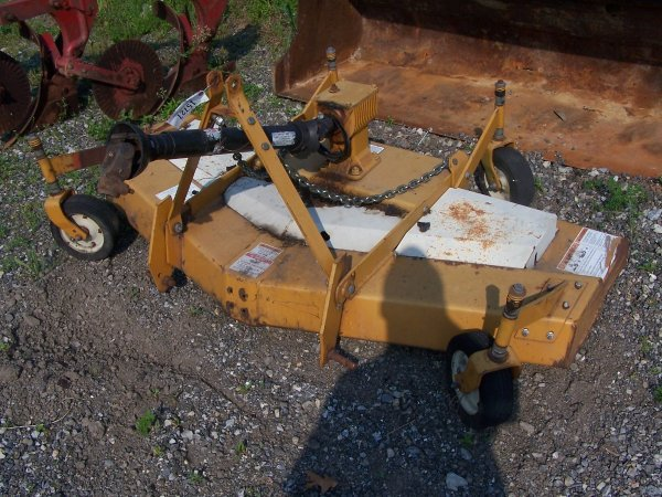 500: Woods RM 660 Mower for Compact Tractor