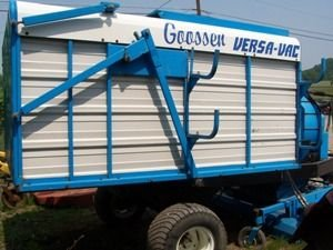 535: Nice Goosen Versa Vac Collection System for Tracto - 6