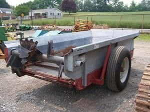 561: Like New New Idea 3715 Manure Spreader for Tractor - 7