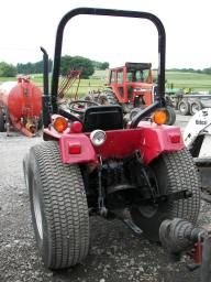 670: Case International 255 4x4 Compact Tractor !!! - 6