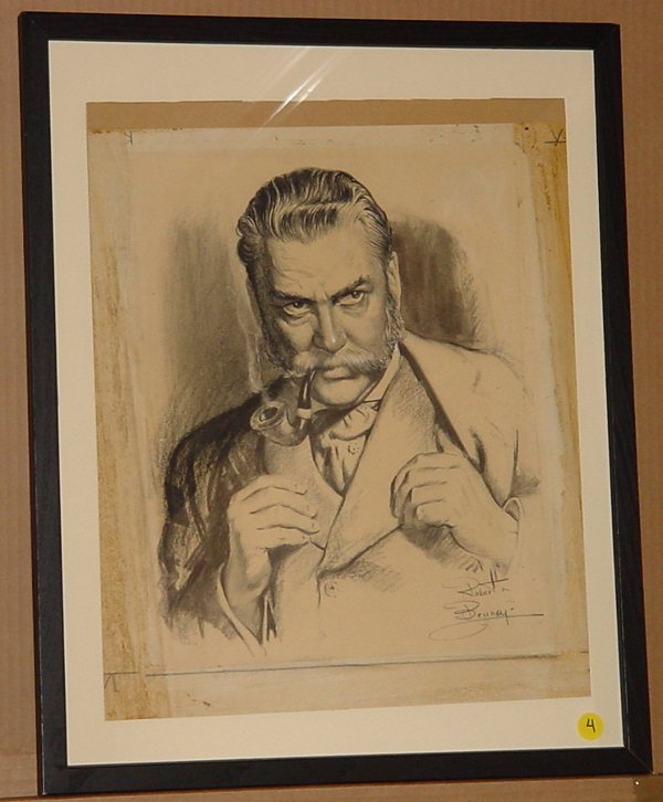 4: Robert Benney (1904-2001), Drawing famous actor
