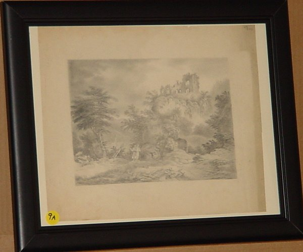 9: Edward Seager (1809-1886) Antique American drawings