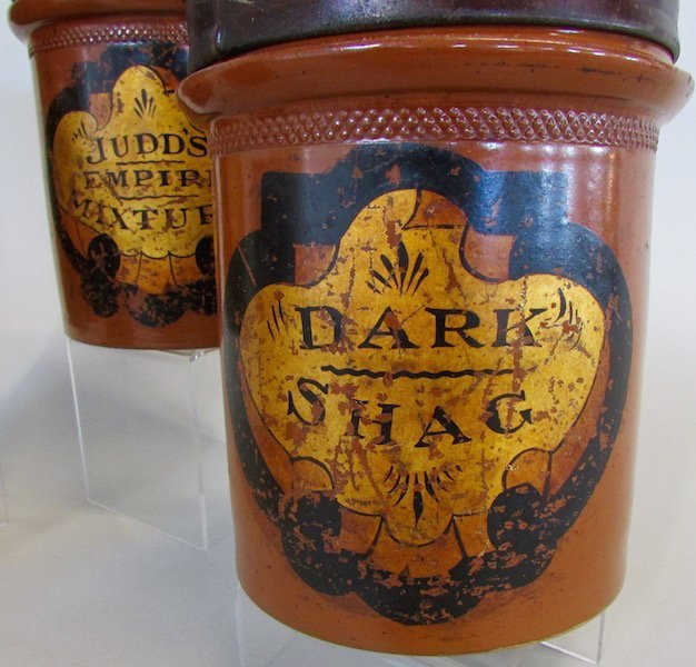 Four Apothecary or Tobacco Jars - 2