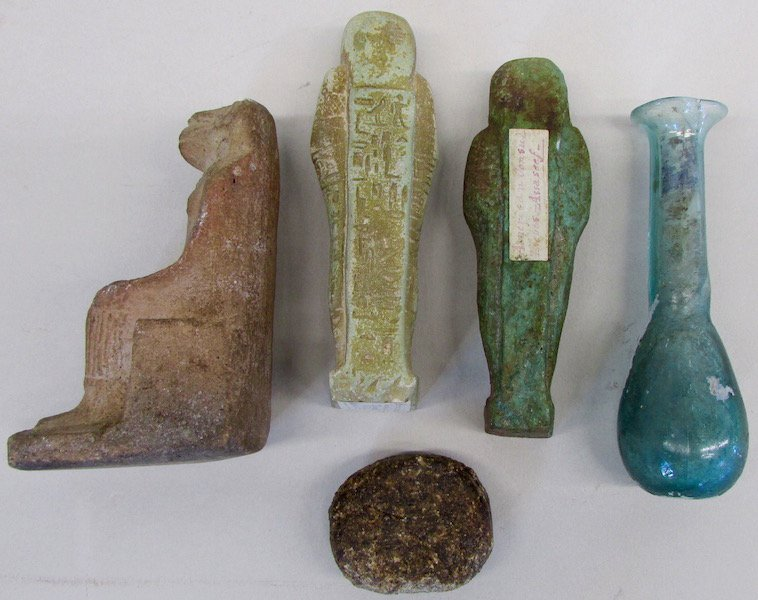 Group of Five Egyptian and Roman Items - 2